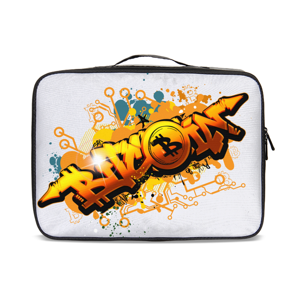 Bitcoin Grafiti Jetsetter Travel Case