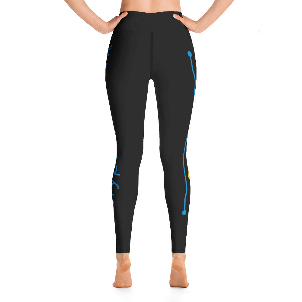 Crypto Current Yoga Leggings