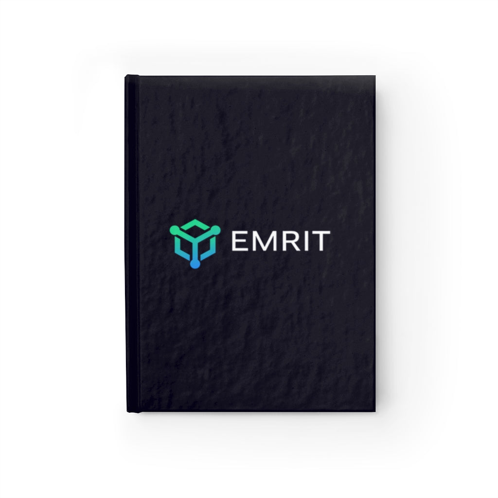 Emrit Journal - Dark Blue Ruled Line