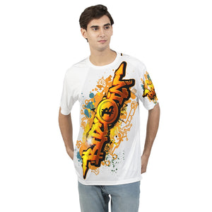 Bitcoin Grafiti Men's Tee