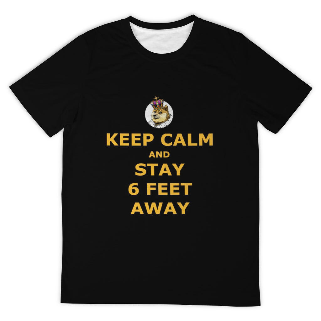 DogeLord Keep Calm T-Shirt (DogeLord Gold Font)