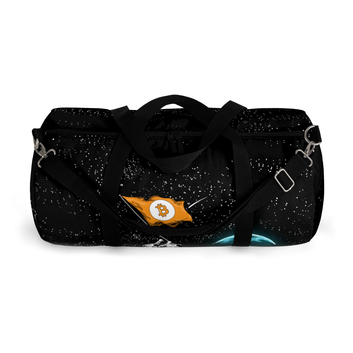 DogeLord Bitcoin to the Moon Duffel Bag