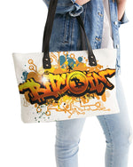 Bitcoin Grafiti Stylish Tote