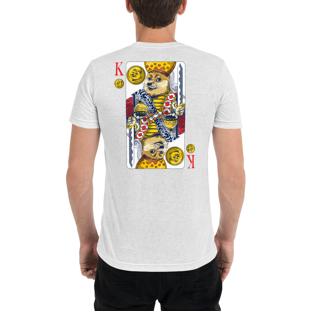 King of Doge Short sleeve t-shirt