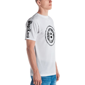 Digital Bitcoin Short sleeve Unisex Sublimation Men's T-shirt