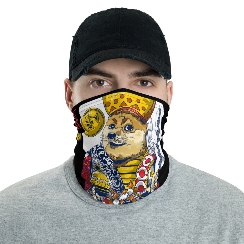 King of Doge Neck Gaiter