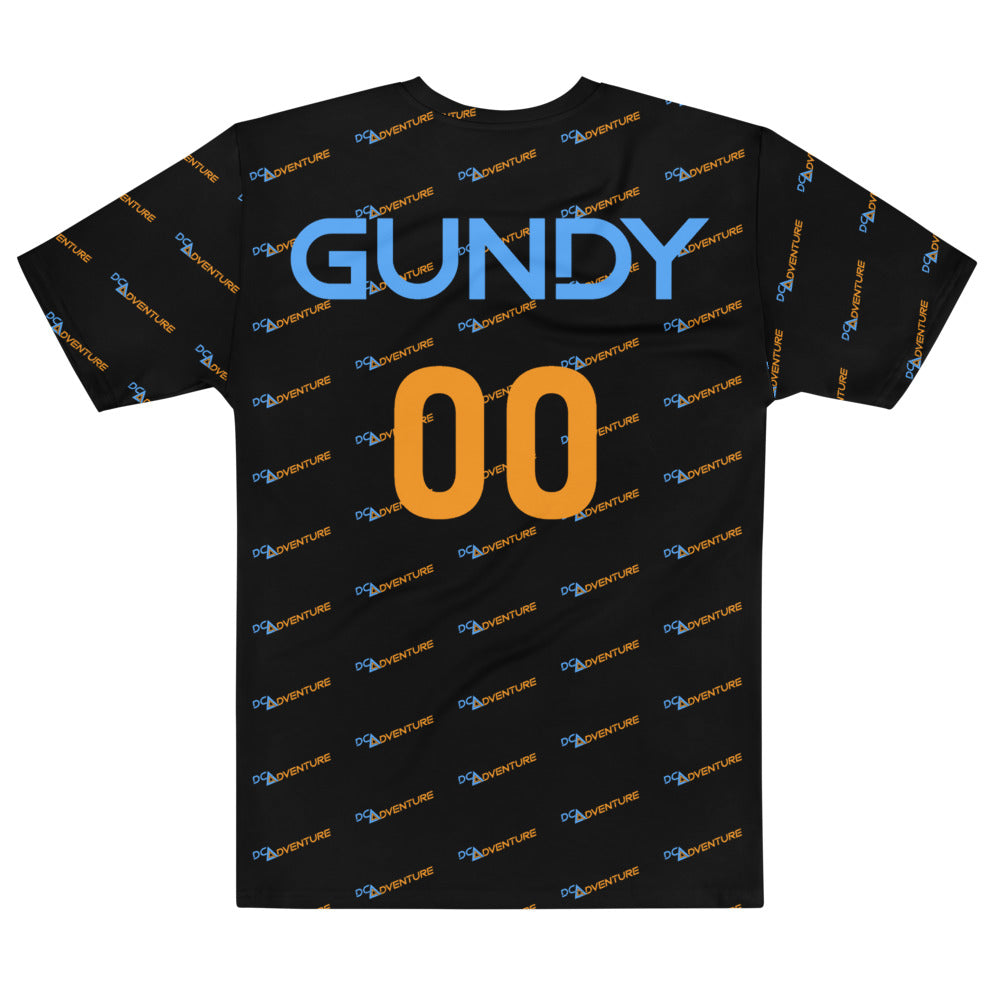 DCA Adventure Gundy 00 All Over Print Jersey Styled T-shirt