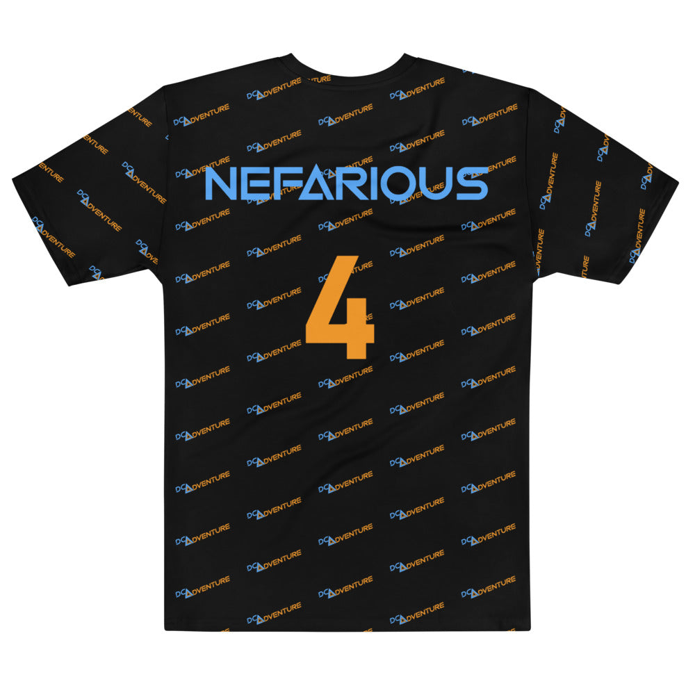 DCA Adventure Nefarious 4 All Over Print Jersey Styled T-shirt