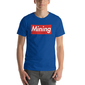 Mining Short-Sleeve Unisex T-Shirt