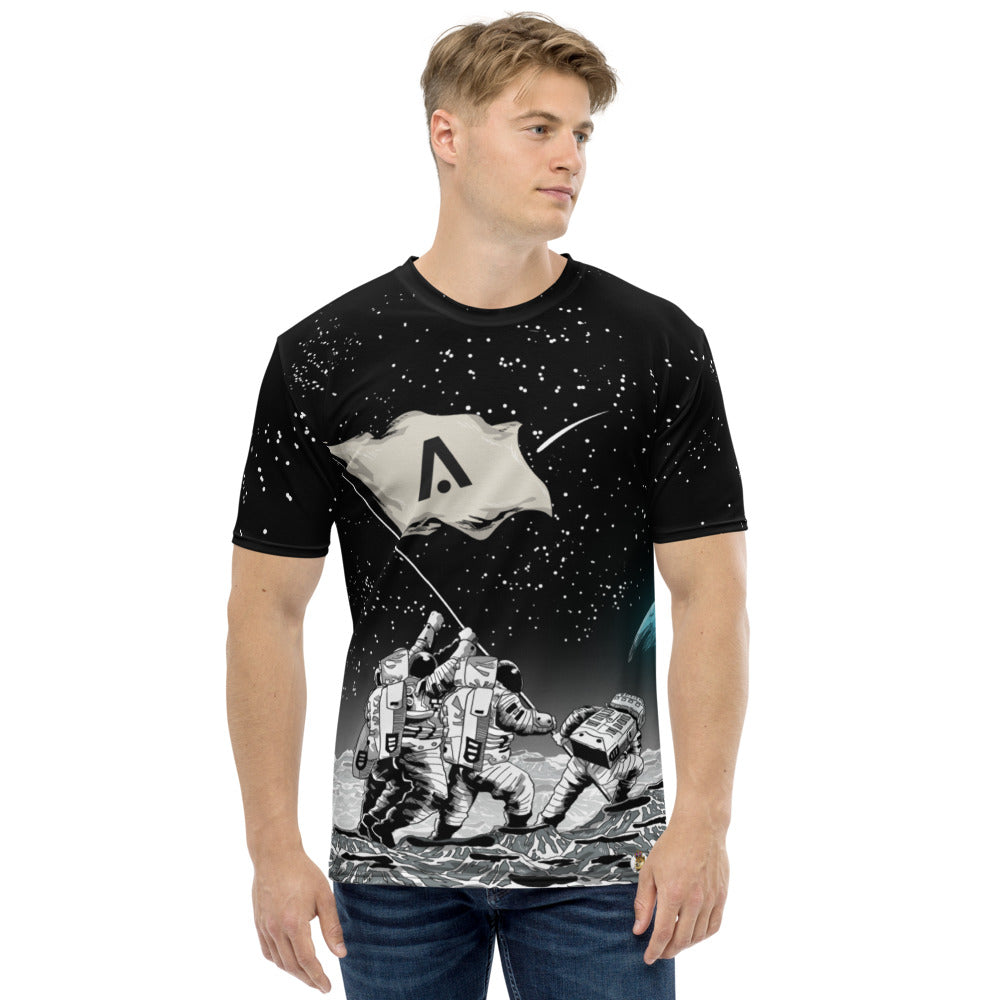AION to the Moon All Over Print Men's T-shirt