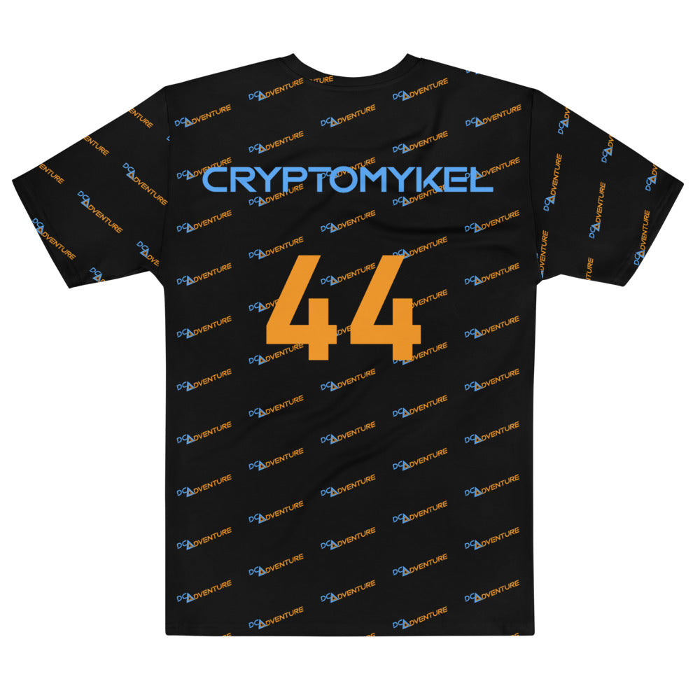 DCA Adventure CryptoMykel 44 All Over Print Jersey Styled T-shirt