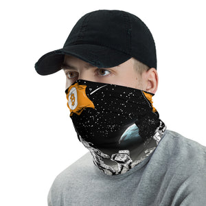 Bitcoin to the Moon Neck Gaiter