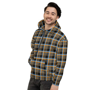 DCA Adventure Flannel Inspired Unisex Hoodie