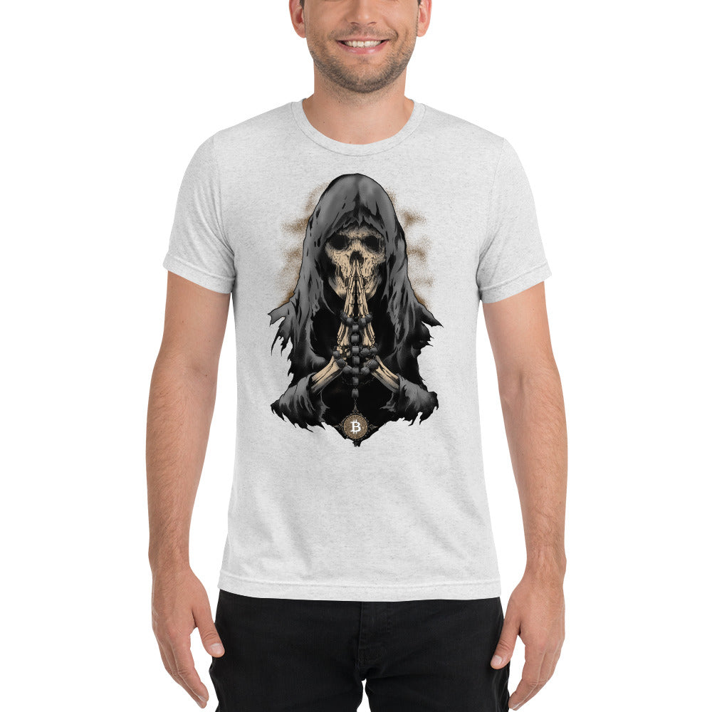 Bitcoin Eternal HODL Reaper Short sleeve Unisex t-shirt