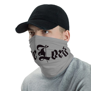 DogeLord Graphic Gray Neck Gaiter