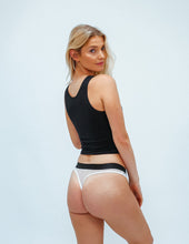 Load image into Gallery viewer, All Black Mesh Classic Thong