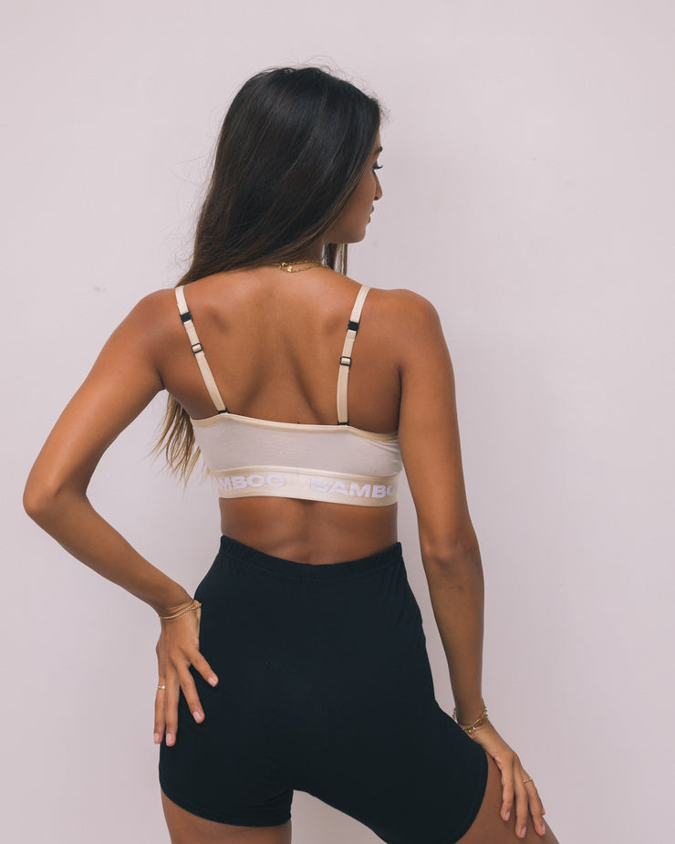 Convertible Triangle Bralette Unicolor