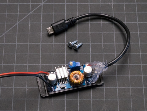 Custom 5-Volt DC (5VDC) Micro-USB Power Regulator