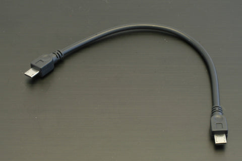 USB OTG Micro B to Micro B Cable (12 inches)