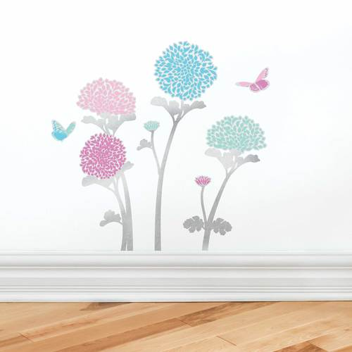 Chrysanthemum Wall Decal