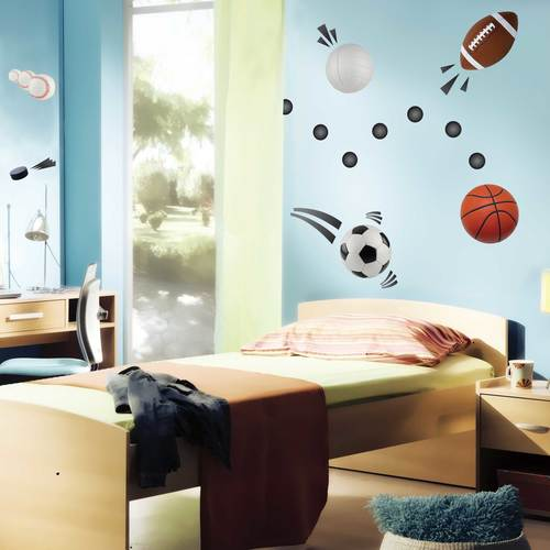 Sports Balls Wall Decal