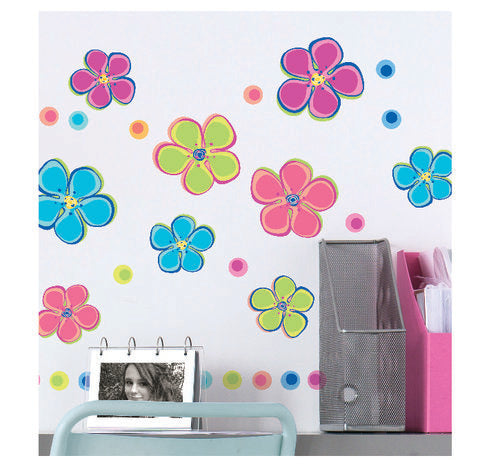 Flower Power Wall Decal