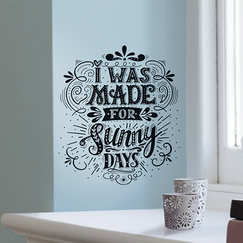 Sunny Days Wall Decal