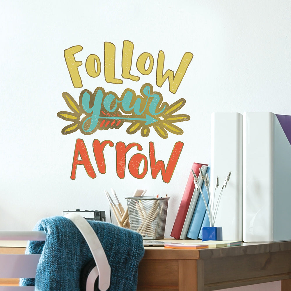 Follow Your Arrow Wall Decal