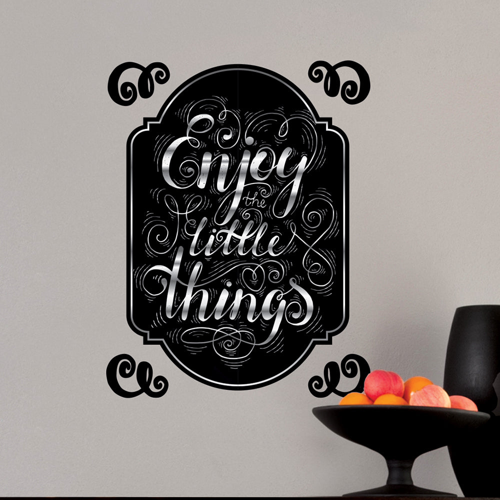 Enjoy Little Things Wall Decal