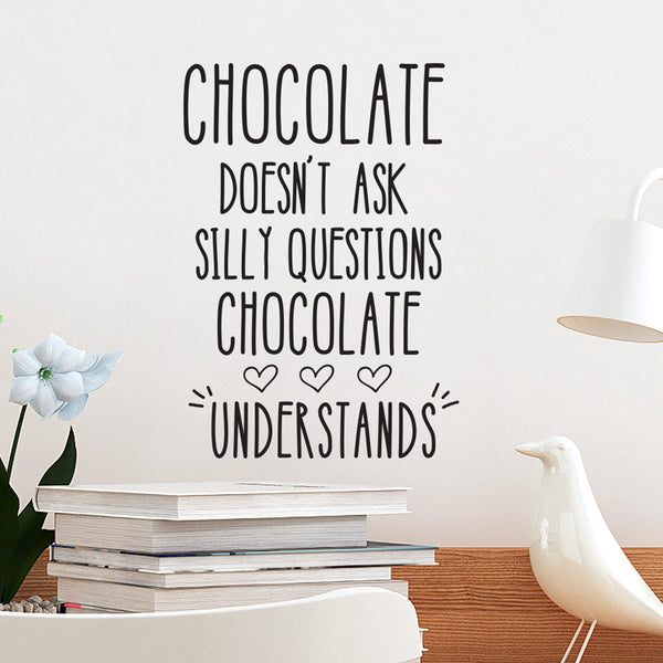 INSP Chocolate Wall Decal