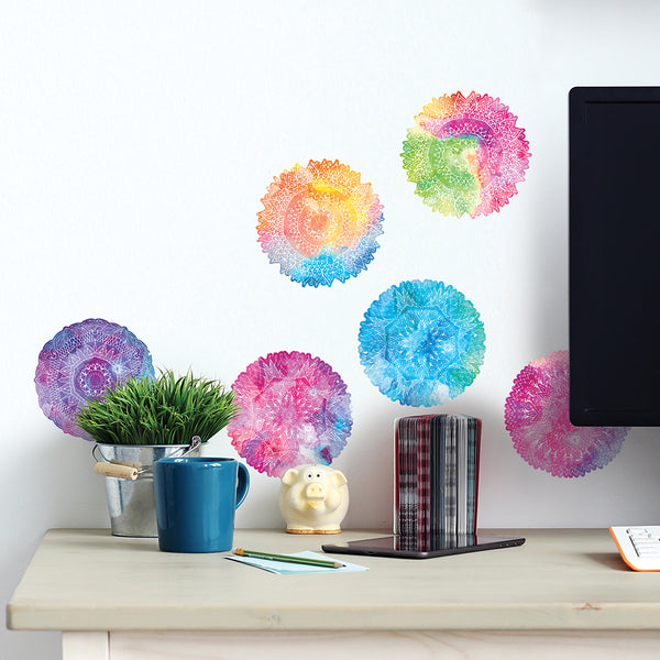 Rainbow Mandalas Decal