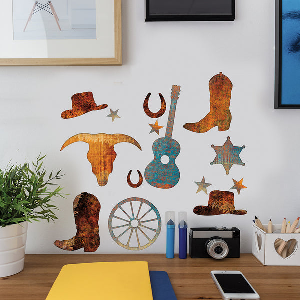 Cowboy Silhouettes Decal