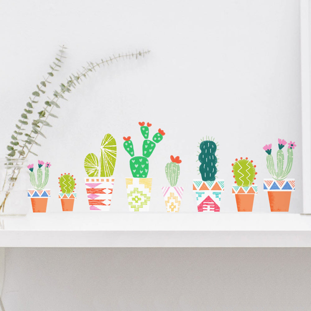 Southwest Cactus Wall Decal