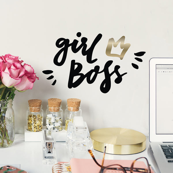 Girl Boss Decal
