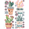 Friendly Succulents Decals
