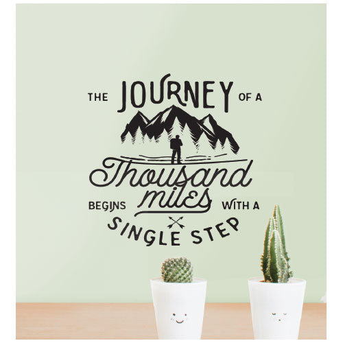 Journey Wall Decal