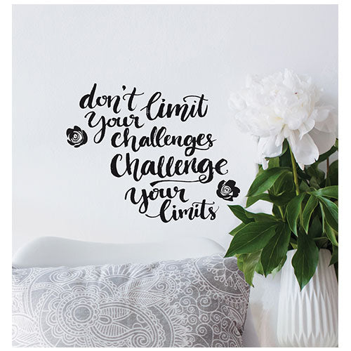 Challenge Your Limits Wall Decal