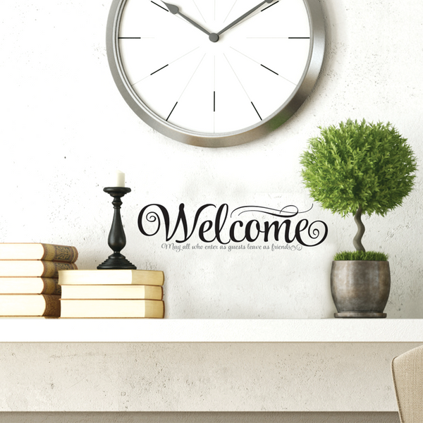 Welcome Wall Decal
