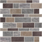 Natural and Gray Mosaics Wall Tile Decal