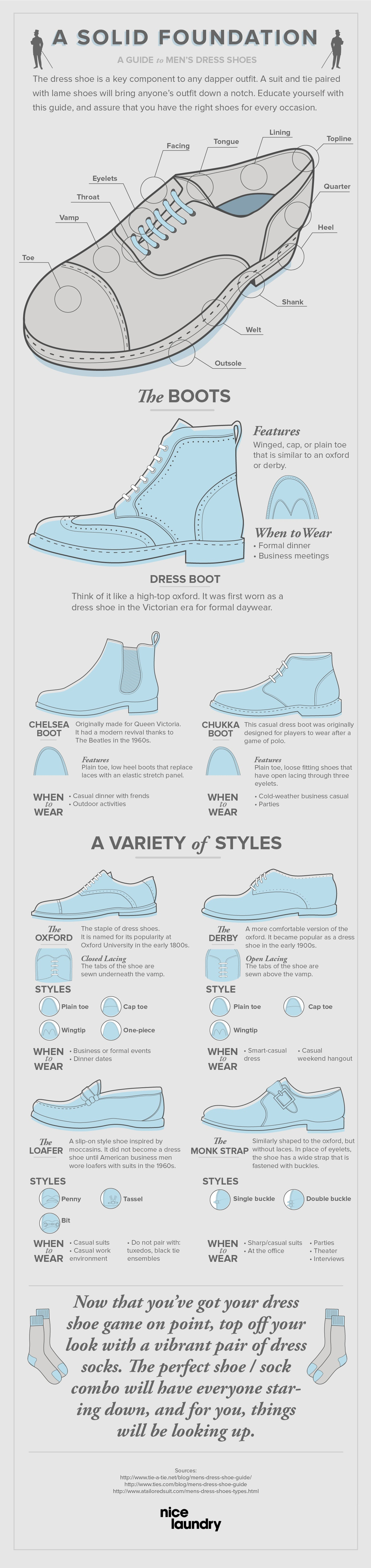 style guide dress shoes brands