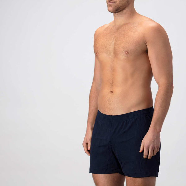 Lounge Short ~ Navy Blue