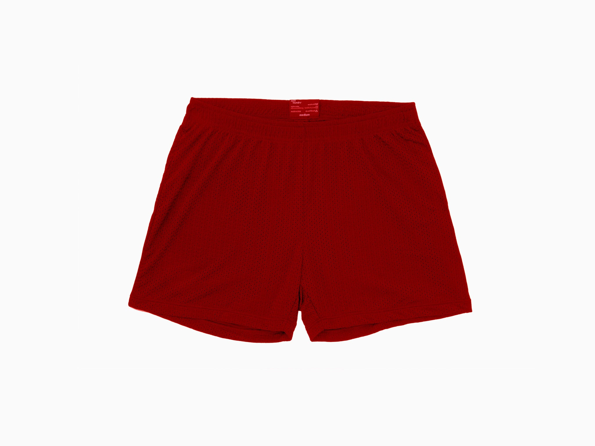 Lounge Short ~ Red