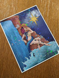 The Star PREMIUM Print 8.5x11in Holographic Cardstock