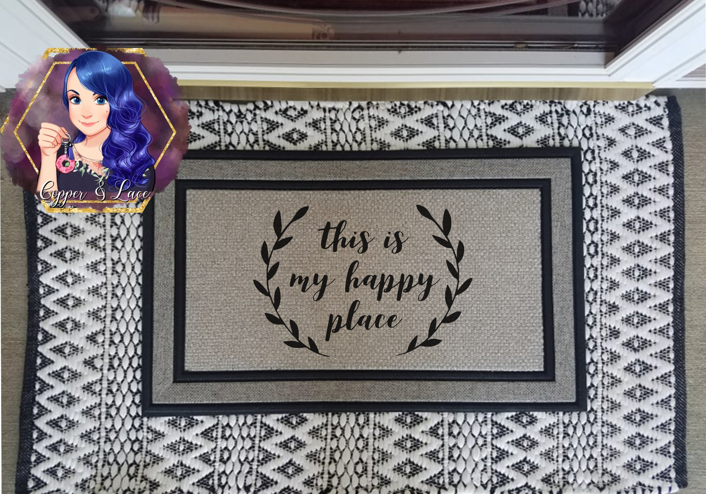 Every Day Door Mat - Multiple Options Avail.