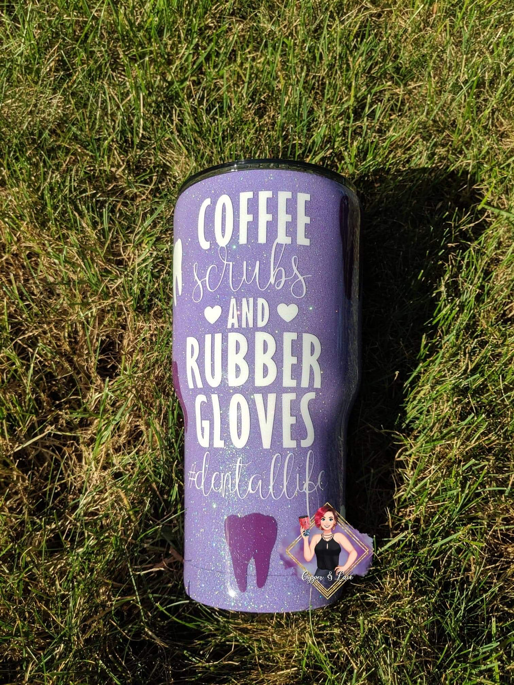 Coffee, Scrubs, and Rubber Gloves