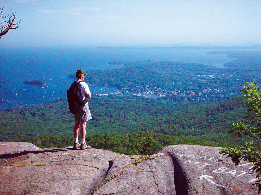 View of Camden from atop Mount Battie