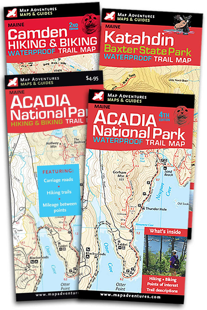 Northern Maine Map Bundle