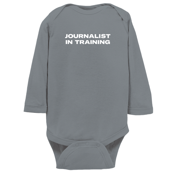 Journalist In Training Onesie