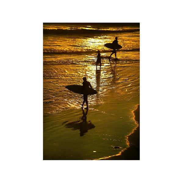 California Coast Surfers Photograph