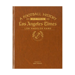LA Times Los Angeles Rams Newspaper Book